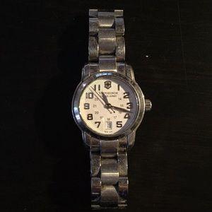 Victorinox Swiss Army Silver Women's Watch